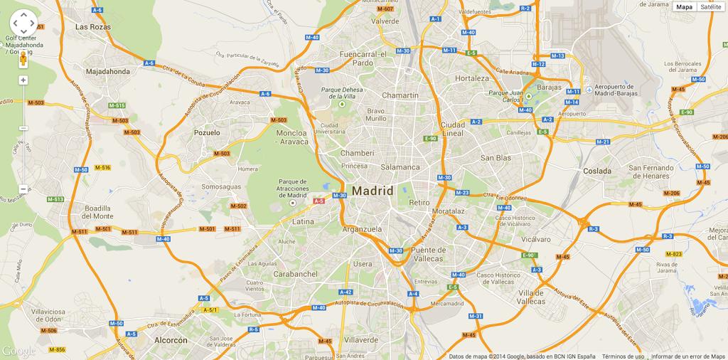 Ya podéis usar el GeoJSON generado por nuestra API para mostrar nuestros datos en Google Maps