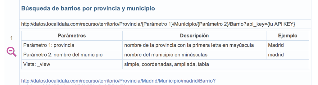 Uniendo datos de la Wikipedia y LocaliData usando Open Refine